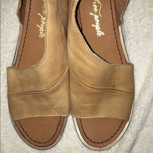Mont Blanc free people shoes
